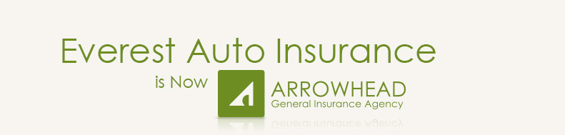 Everest Auto Insurance is Now Arrowhead General Insurance Agency